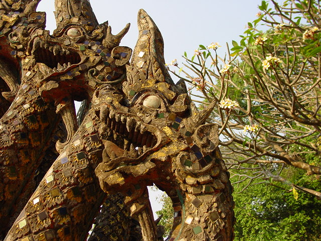 Dragons at Doi Suthep